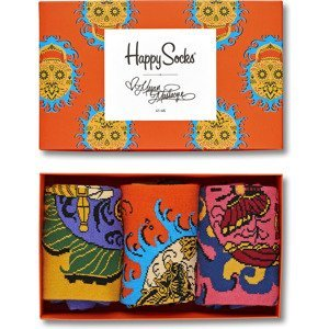 3-pack skarpety Happy Socks - Megan Massacre x Happy Socks Box XMEG08-4000