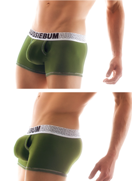 Bokserki męskie Aussiebum - Enlarge IT army