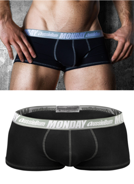 Bokserki męskie Aussiebum - MyDay Black Monday