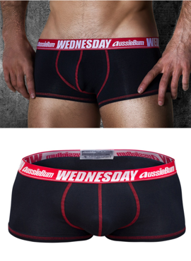 Bokserki męskie Aussiebum - MyDay Black Wednesday