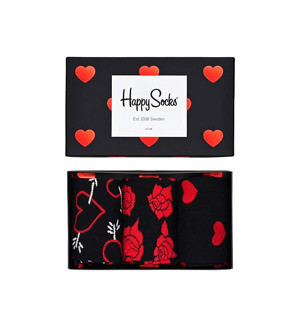 Skarpety 3-pack Happy Socks - Gift Box Valentines XVAL08-9000