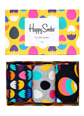 Skarpety 3-pack Happy Socks - Gift Box XEAS08-2000