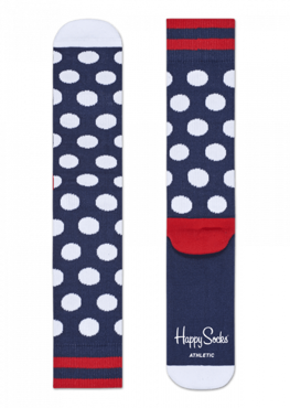 Skarpety Happy Socks - Athletic Big Dot Sock ATBDO27-6003