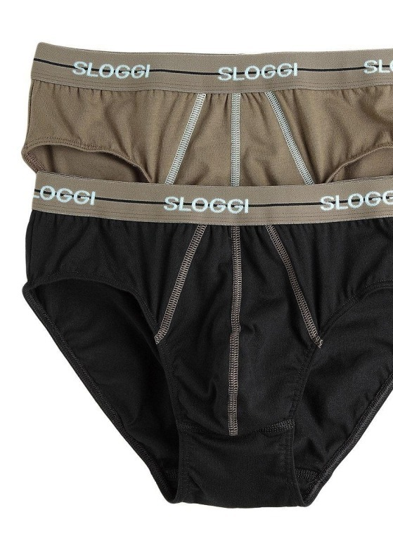 2-pack slipy męskie Sloggi - Men Start Midi M010/G9