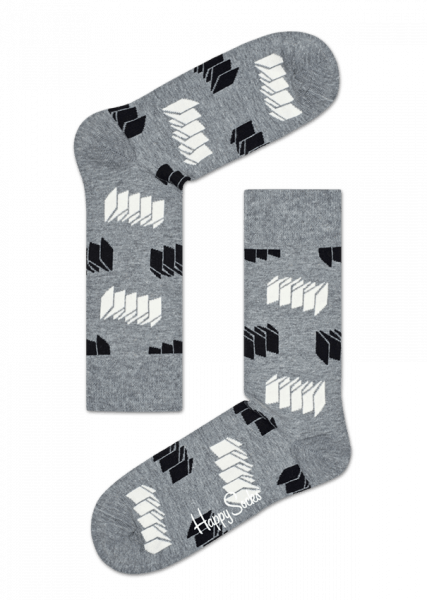 4-pack skarpety Happy Socks - Gift Box Optic Socks XOPT09-9000