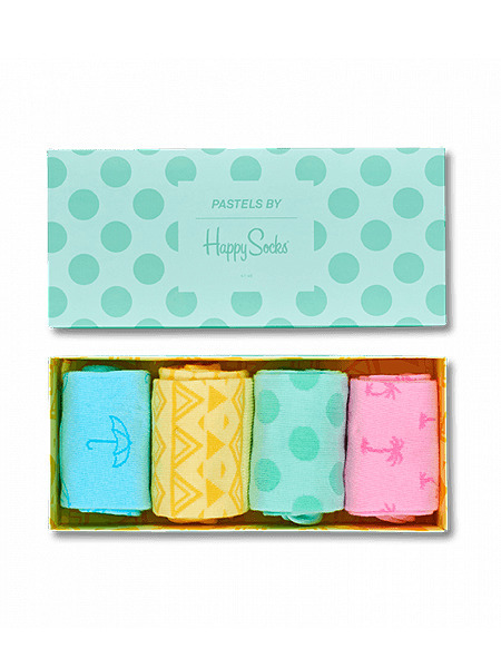 4-pack skarpety Happy Socks - Pastel Socks Gift Box XPAS09-7000