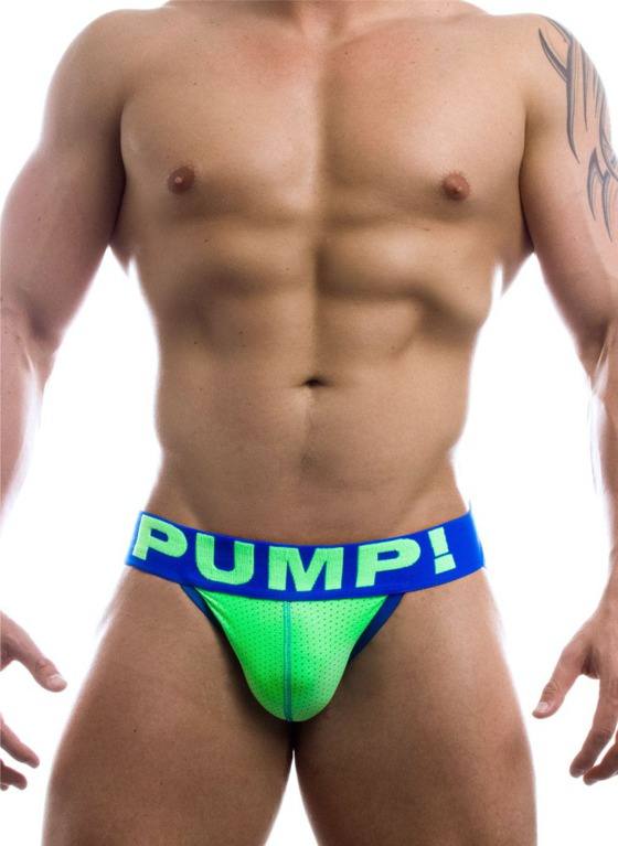 Jockstrap Pump! - Shockwave Jock zielone