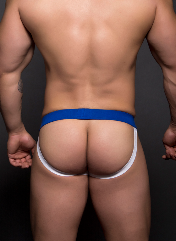 Jockstrap męski Andrew Christian -  Football Jock w/ Show-It