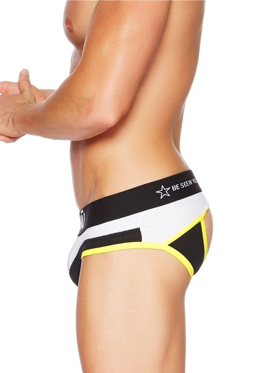 Jockstrap męski BCNÜ -  Rollick (Backless) Brief czarny