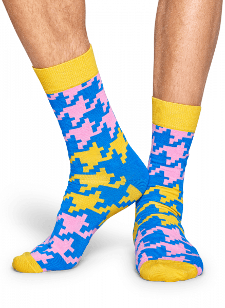 Skarpety Happy Socks - Dogtooth Sock DGT01-2000