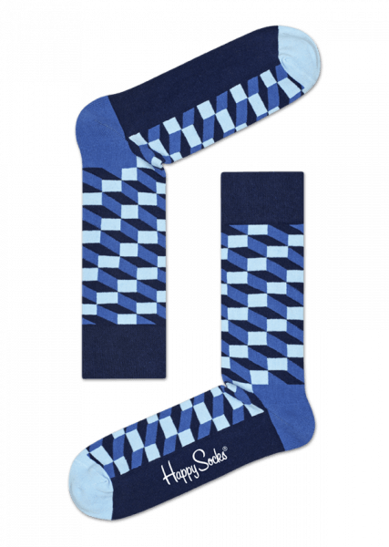 Skarpety Happy Socks - Filled Optic Sock FIO01-6000