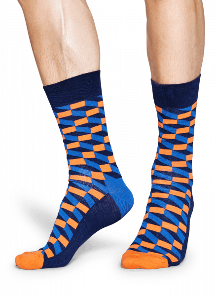 Skarpety Happy Socks - Filled Optic Sock FIO01-6002