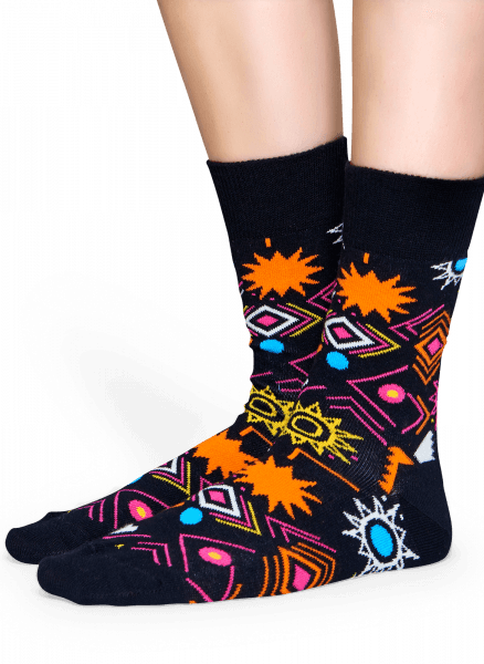 Skarpety Happy Socks - Sign Sock SIG01-9000