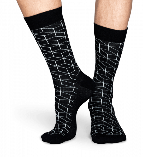 Skarpety Unisex Optic Happy Socks - OPT01-6001