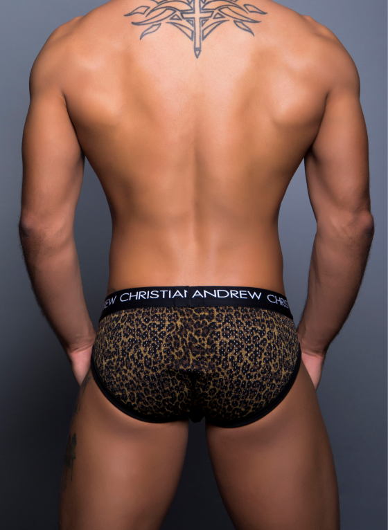 Slipy męskie Andrew Christian - Mesh Animal Brief