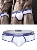 Slipy męskie Aussiebum - WJ Patriot White