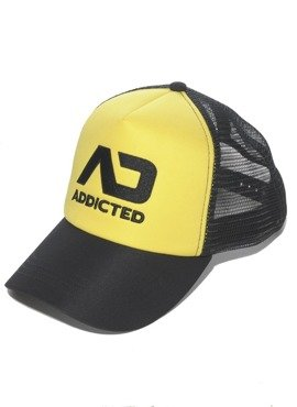 CZAPKA ADDICTED - AD FETISH CAP YELLOW