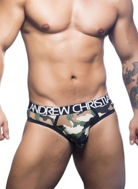 Jockstrap męski Andrew Christian - Camouflage Locker Room Jock w/Almost Naked