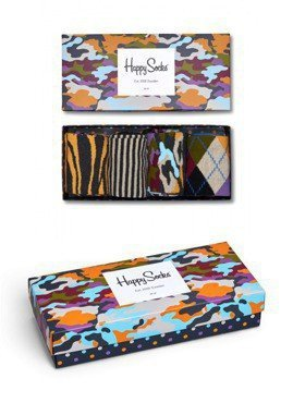 SKARPETY 4-PACK HAPPY SOCKS - GIFT BOX XBC09-095