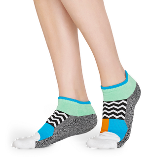SKARPETY HAPPY SOCKS -  ATHLETIC HAPPY SOCKS LOW ATBLO05-9100