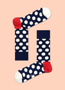 SKARPETY HAPPY SOCKS - BIG DOT SOCK BD01-608