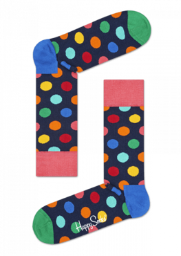 SKARPETY HAPPY SOCKS - BIG DOT SOCK BDO01-6001