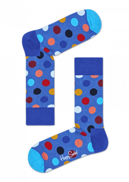 SKARPETY HAPPY SOCKS - BIG DOT SOCK BDO01-6002