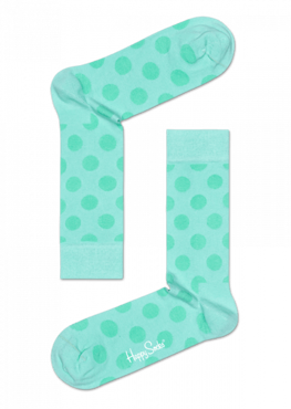 SKARPETY HAPPY SOCKS - PASTEL BIG DOT BDO01-7002