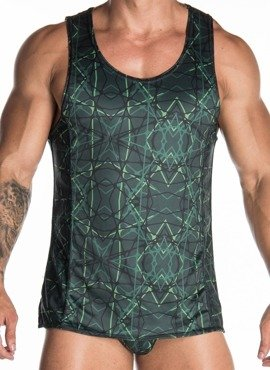 TANK TOP MĘSKI GIGO - JUNGLE ZIELONY