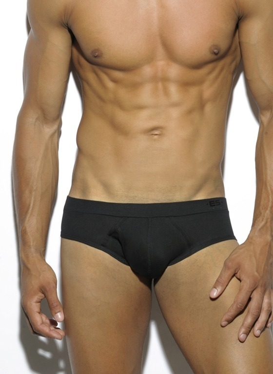 3-PACK SLIPY MĘSKIE ES COLLECTION - THREE PACK BASIC COTTON BRIEF