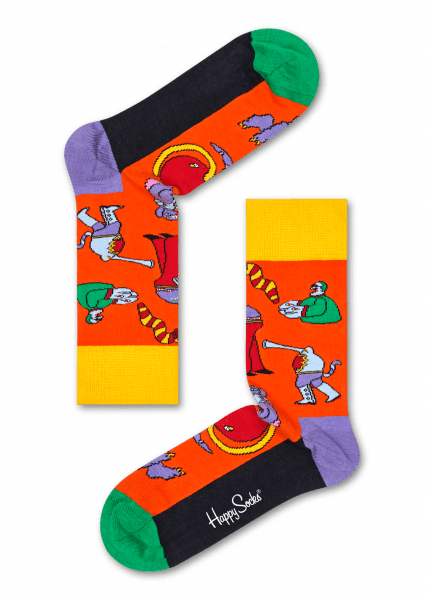 6-PACK SKARPETY HAPPY SOCKS - THE BEATLES COLLECTOR BOX SET XBEA10-2000