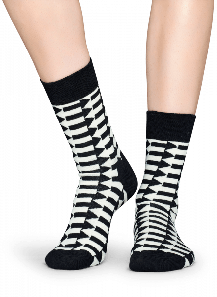 SKARPETY HAPPY SOCKS - DIRECTION SOCK DIR01-9000