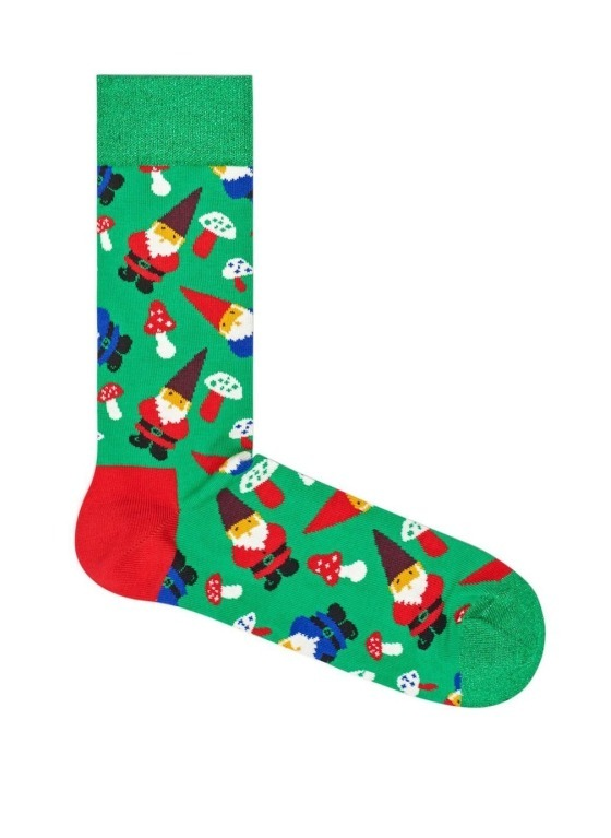 SKARPETY HAPPY SOCKS - GARDEN GNOME GGN01-7000