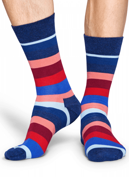 SKARPETY HAPPY SOCKS - THIN STRIPE SOCK TST01-9002