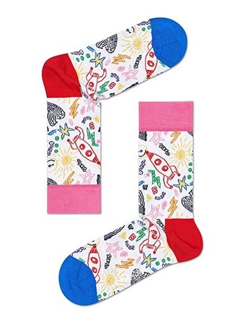 SKARPETY 3-PACK HAPPY SOCKS - MOTHER'S DAY GIFT BOX XMOT08-2000