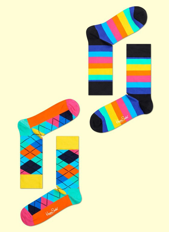 Skarpety 4-pack Happy Socks - Gift Box XBD09-068