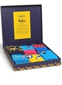 6-PACK SKARPETY HAPPY SOCKS - THE BEATLES COLLECTOR BOX SET XBEA10-6000