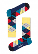 SKARPETY HAPPY SOCKS - ARGYLE SOCK ARY01-6004