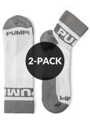 SKARPETY PUMP! UNDERWEAR - ALL-SPORT GREY SOCKS 2-PACK